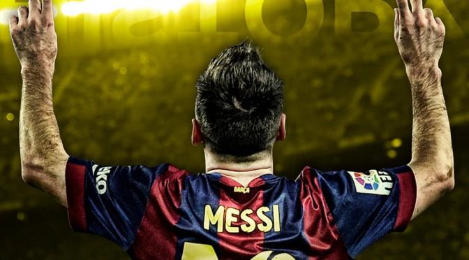 Messi máximo goleador de la historia en Champions League