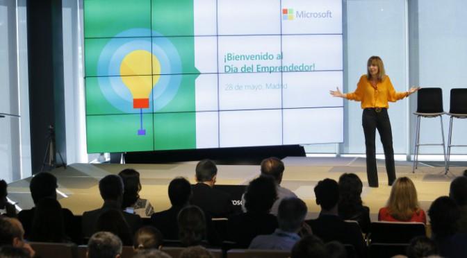 Día del Emprendedor en Microsoft para empresas tecnológicas de nueva creación