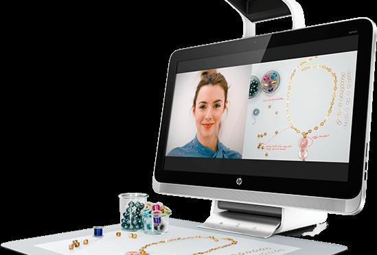 Wow! Sprout de HP Diseño 3D y demostraciones interactivas